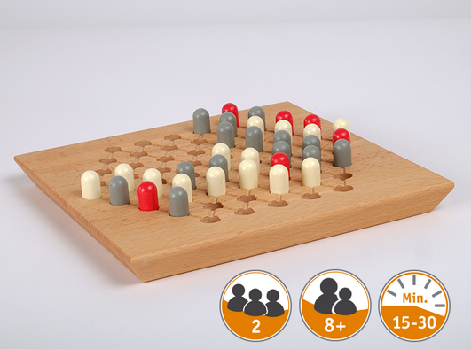 "RUKUNI - handcrafted wooden game - Handcrafted wooden games ""Made in Germany"". All our handcrafted items are produced sustainable by the latest standards and fair trade. #handcrafted #handmade #madeinGermany #toys #games #woodengames #Germany"