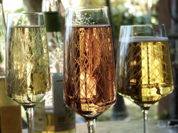 Champagne Glasses from Germany